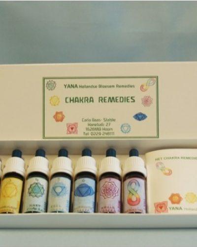 Yana Chakra remedies Chakra set 10 ml , 8 stockflesjes